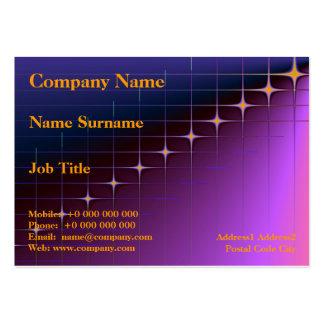 Diamond Intersection Chubby Business Card