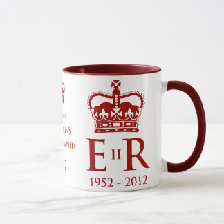 Diamond Jubilee Commemorative Mug