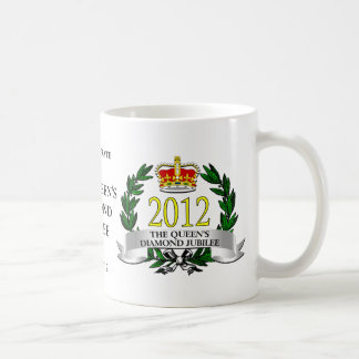 Diamond Jubilee Coffee Mugs