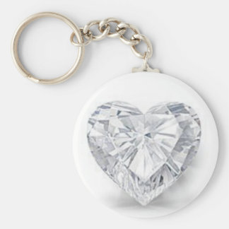 Diamond = Love Key Ring