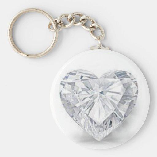 Diamond = Love Key Chain