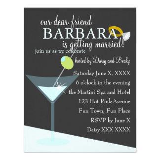 Diamond Martini Custom Invite