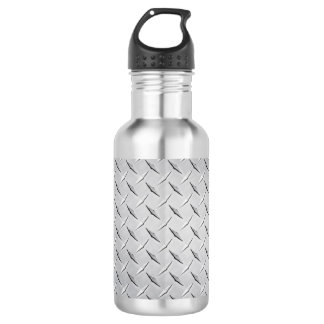 Diamond Metal Plate 532 Ml Water Bottle