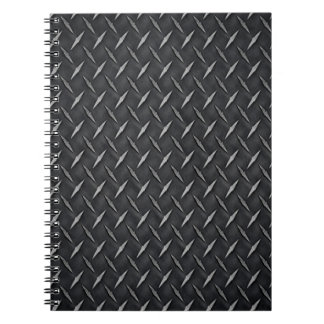 Diamond Metal Plate Notebook