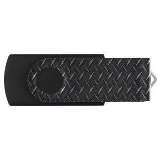 Diamond Metal Plate USB Flash Drive