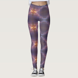 Diamond Mirrored Galactic Leggings