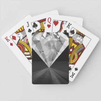 Diamond On Back Playing Cards