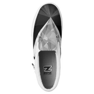 Diamond On Back Slip-On Shoes