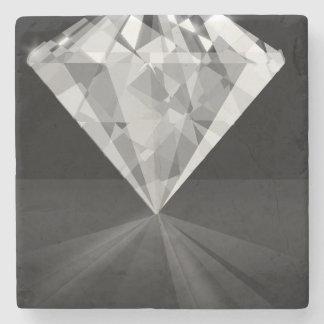 Diamond On Back Stone Coaster