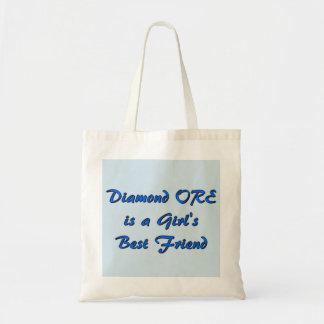 Diamond Ore Girl Tote Bag