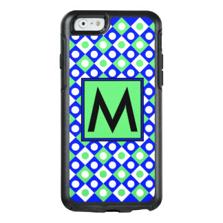 Diamond Pattern #116 Monogrammed OtterBox iPhone 6/6s Case