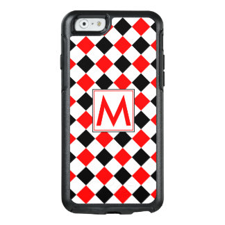 Diamond Pattern #3 Monogrammed OtterBox iPhone 6/6s Case