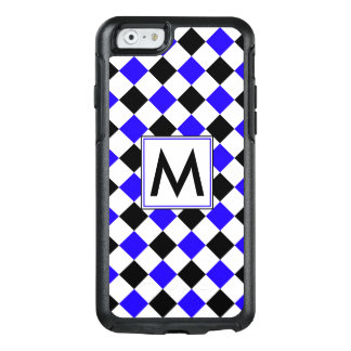 Diamond Pattern #4 Monogrammed OtterBox iPhone 6/6s Case