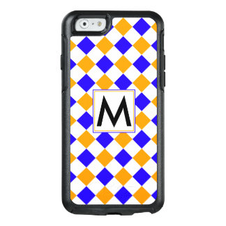 Diamond Pattern #6 Monogrammed OtterBox iPhone 6/6s Case
