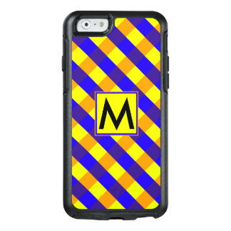 Diamond Pattern #9 Monogrammed OtterBox iPhone 6/6s Case