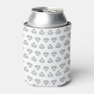 Diamond Pattern Can Cooler