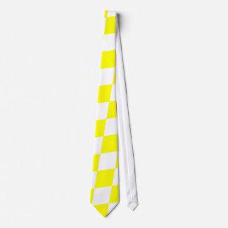 DIAMOND PATTERN in Bright Yellow Tie