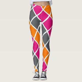 Diamond Pattern Leggings