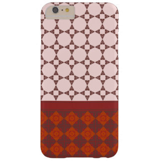 Diamond patterns barely there iPhone 6 plus case
