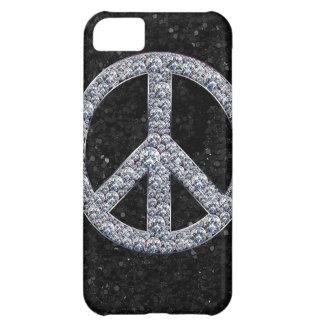 Diamond Peace Sign iPhone 5C Case