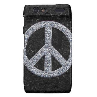 Diamond Peace Sign Motorola Droid RAZR Case