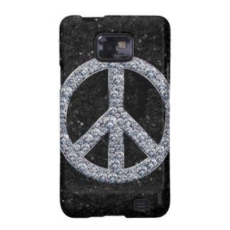 Diamond Peace Sign Galaxy S2 Covers