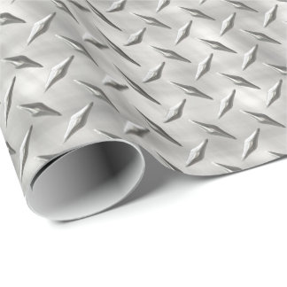 Diamond Plate 1 Wrapping Paper