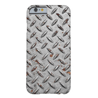 Diamond Plate Background Barely There iPhone 6 Case