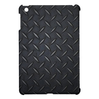 Diamond Plate Black iPad Mini Case