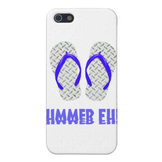 Diamond Plate Flip Flops iPhone 5 Case