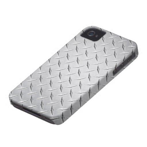 Diamond Plate iPhone 4/4S Case Mate Case