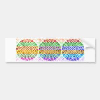 Diamond Power Balls Bumper Sticker