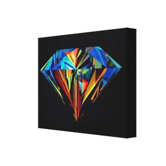 DIAMOND RAINBOW WALL ART