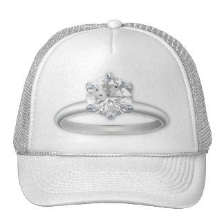 Diamond Ring Bling Clipart Hat