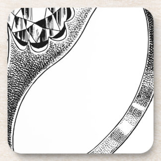 Diamond Ring Drink Coaster