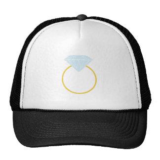 Diamond Ring Mesh Hats
