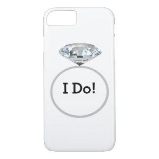 Diamond Ring I Do! #2 - Wedding Party iPhone 7 Case
