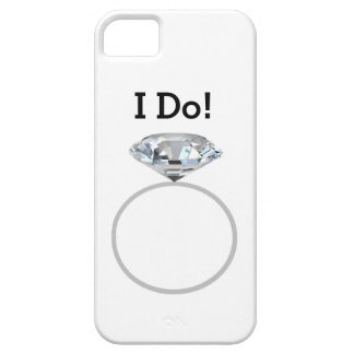 Diamond Ring I Do! #3 - Wedding Party iPhone 5 Cases