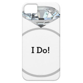 Diamond Ring I Do! - Wedding Party Barely There iPhone 5 Case