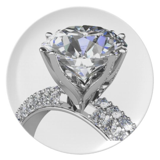 Diamond Ring III Plate Collection by Mysistergirl