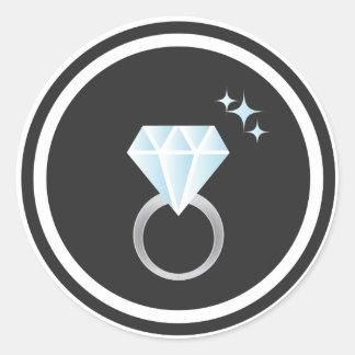 Diamond Ring Sticker