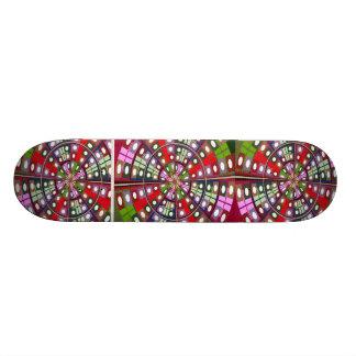 Diamond Rolls Jewel Design Skate Board Deck