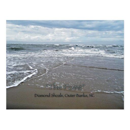 "Diamond Shoals ""The Point"" OBX North Carolina Postcards"