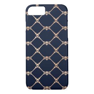 Diamond skull pattern iPhone 8/7 case