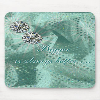 Diamond Studs Mousepad- personalize Mouse Pad