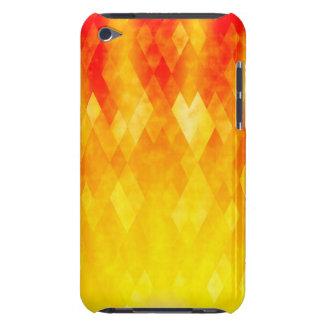 Diamond Sunburst Bright Geometric Design iPod Touch Cases