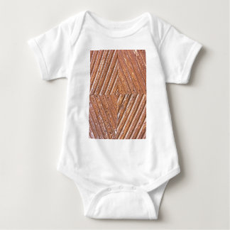 Diamond texture baby bodysuit