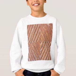 Diamond texture sweatshirt