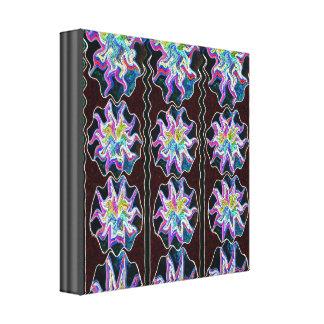Diamond Wave Pattern Stretched Canvas Prints