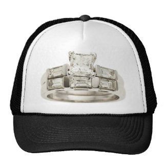 Diamond Wedding Engagement Ring Hint Hint Cap